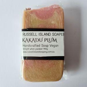 New VEGAN Kakadu Plum Handcrafted Soap 140g Made in Australia